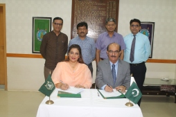 VC-SU Dr. Burfat and New ports chancellor Dr. Huma Bokhari .JPG